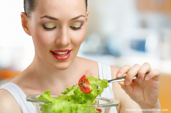 Mediterranean diet for women