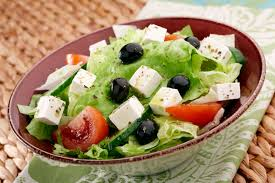 Greek Salad - the mediterranean diet on a plate