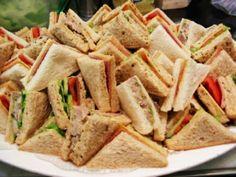 finger foods toast