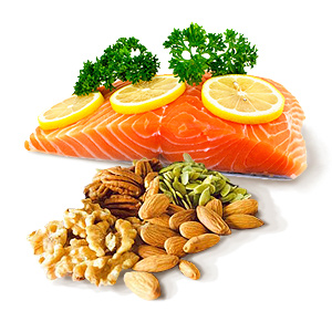 Omega-3 rich in Mediterranean foods against blindness